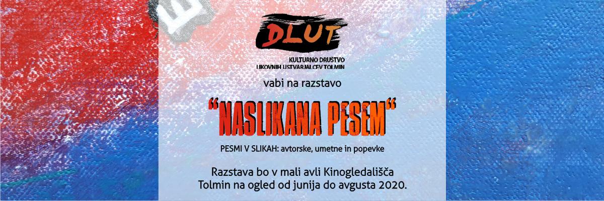 2020-06 Naslikana pesem – objava spletna stran