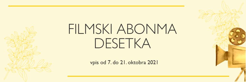 FILMSKI ABONMA DESETKA - spletna stran