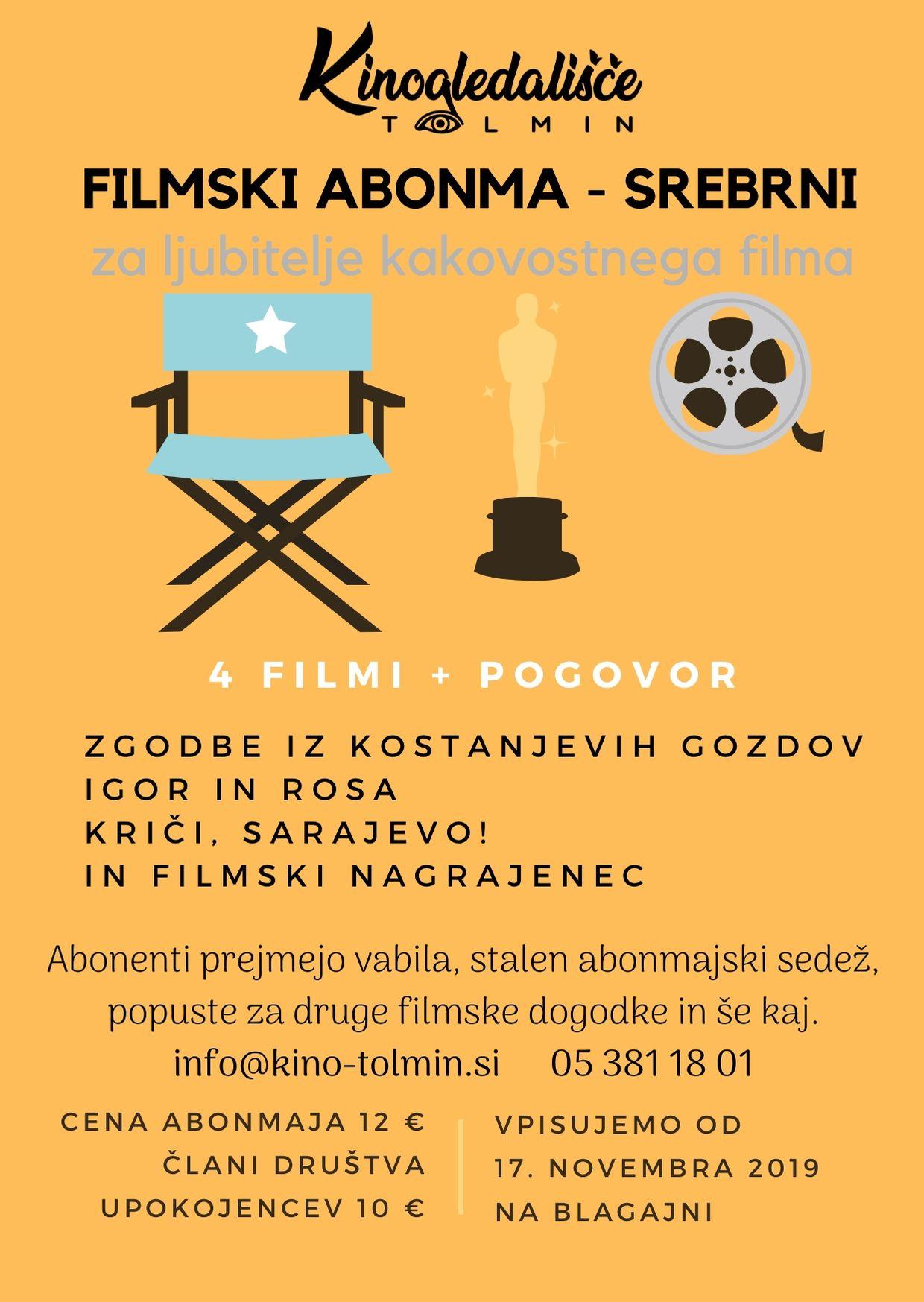 FILMSKI ABONMA - SREBRNI